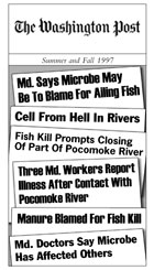 Washington Post headlines Summer and Fall 1997