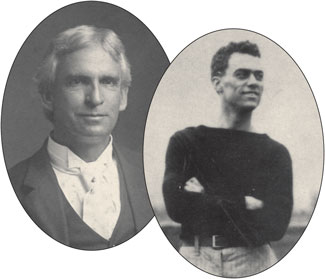 Albert LaVallette Jr. and Curley Byrd