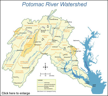 Chesapeake Watershed Map