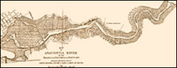 Map of the Anacostia