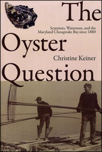 Cover of The Oyster Question showing two men using tongs