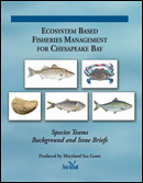 Ecosystem Based Fisheries Management for Chesapeake Bay cover