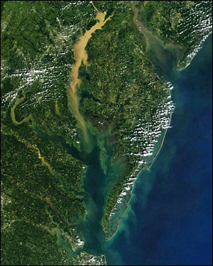 Satellite photo from September 2011. Source: National Aeronautics and Space Administration.