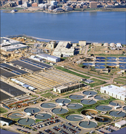 Blue Plains plant. Credit: AECOM, Inc.