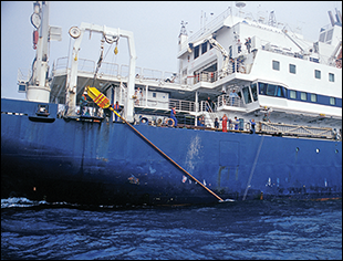 RV Marion Dufresne. Credit: French Polar Institute IPEV
