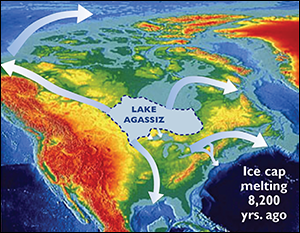 Global Ocean Conveyor Belt. Credit: Smithsonian Institution