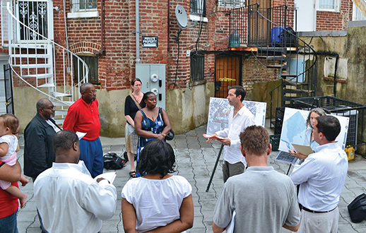 City officials met with residents of the Chevy Chase and Petworth neighborhoods. Credit:  D.C. Department of Energy and Environment