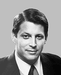 Al Gore. Photograph, U.S. Sentate Historical Office