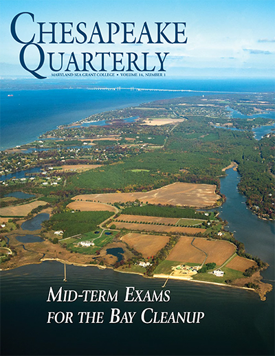cover - chesapeake quarterly v 16 no 1