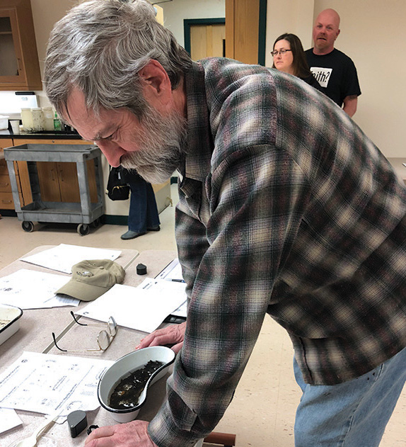 Brent Chippendale drove 40 minutes to learn about bugs in streams in hopes of restoring the ones on his own land.