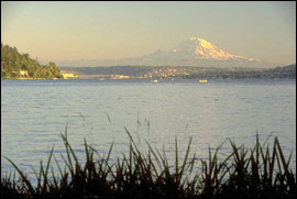 Lake Washington. Photograph by Washington Sea Grant