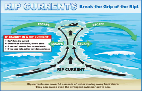 Rip Currents: Break the Grip of the Rip!