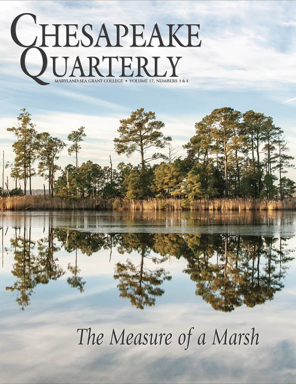 Volume 17, Numbers 3 & 4 : The Measure of a Marsh