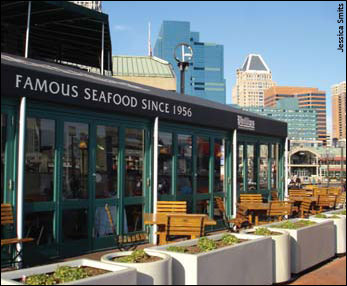 Phillips Seafood Restaurant At Baltimore S Inner Harbor Photograph By Jessica Smits