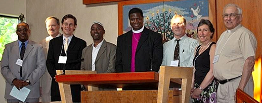 Maryland religious leaders who signed the Covenanting for Creation. Photograph, Interfaith Partners for the Chesapeake